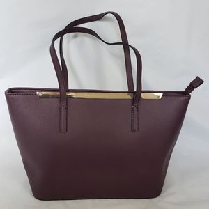 ALDO zippered tote handbag